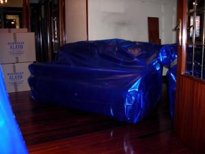 Embalaje de sofá