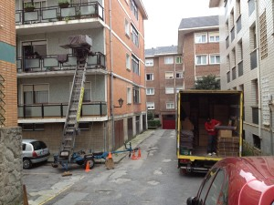 maquina 2º piso y camion